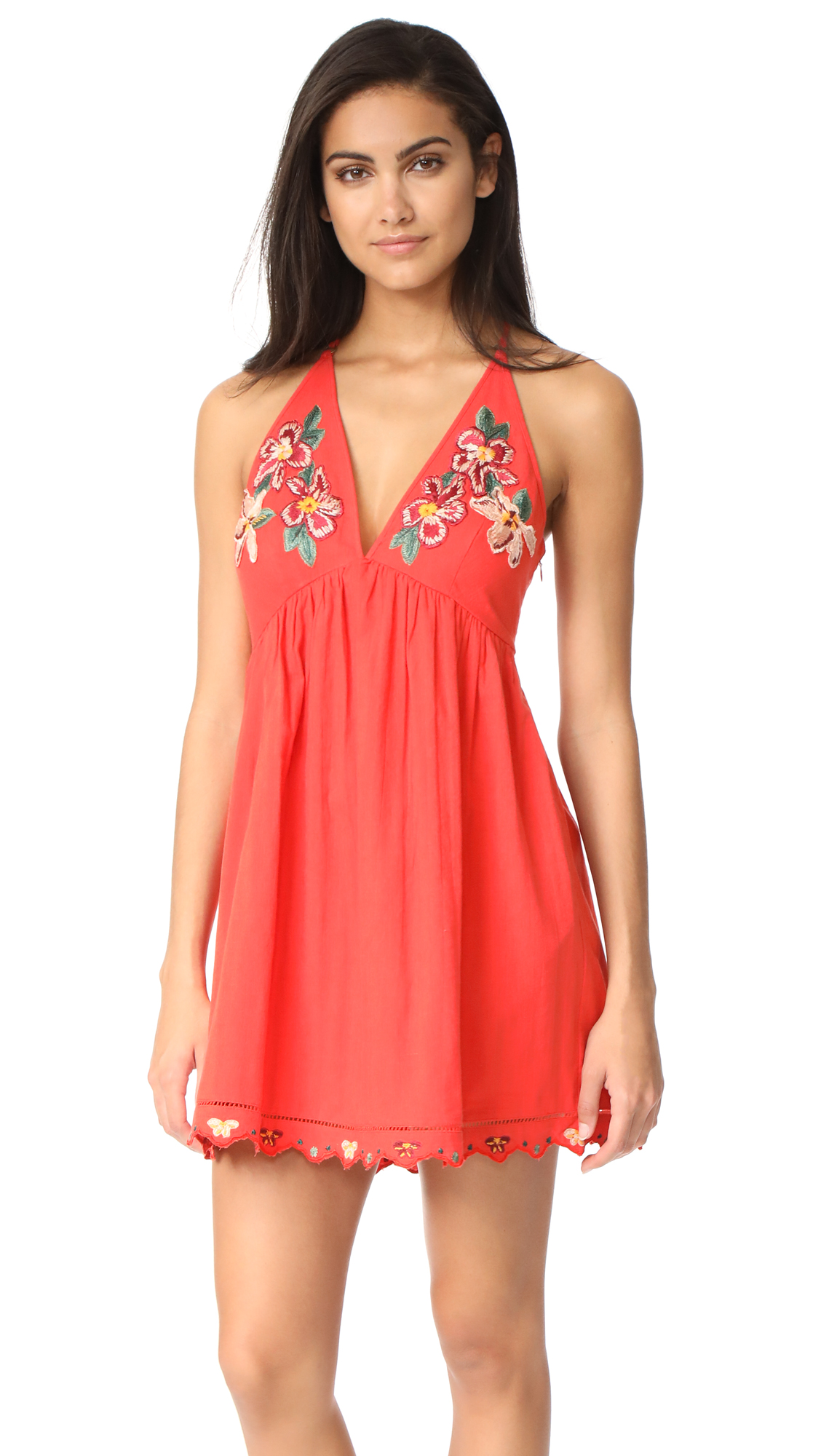 Free People Love & Flowers Dress