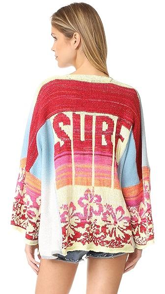 Free People Surf Kimono Sweater