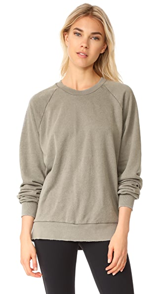 Free People Solid Rough and Tumble Sweatshirt