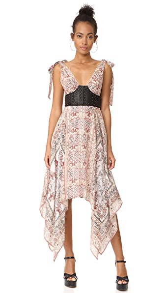 Free People You For Me Printed Maxi Dress - Antique Combo