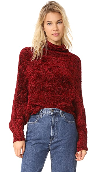 Free People Velvet Dreams Pullover
