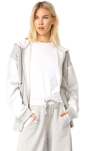 Free People Easy Track Top Hoodie
