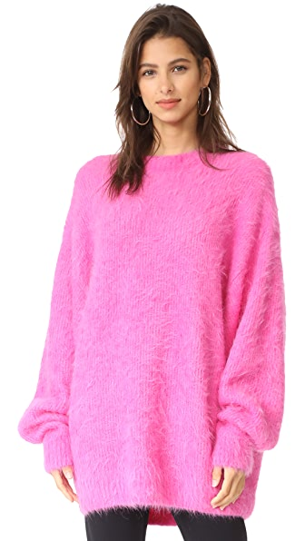 Free People It Girl Sweater Pullover In Pink