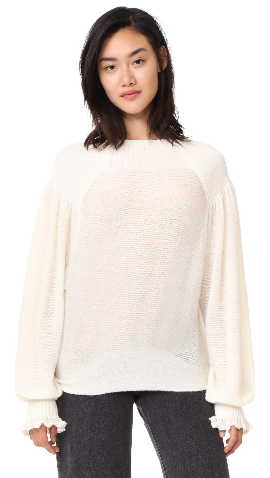 Free People Elderflower Sweater