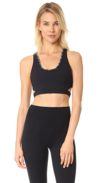 Free People Movement Stitch In Time Bra - Black