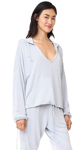 Free People Yella Hoodie Top