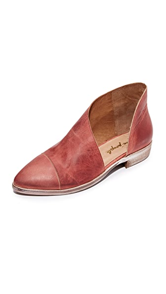 Free People Royale Flats - Red
