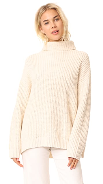 Free People Swim Too Deep Pullover Sweater