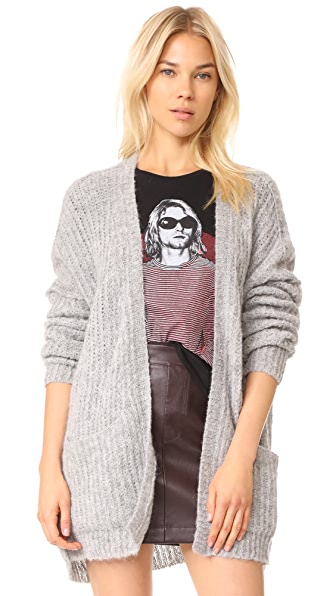 Free People Weekend Getaway Alpaca Cardigan