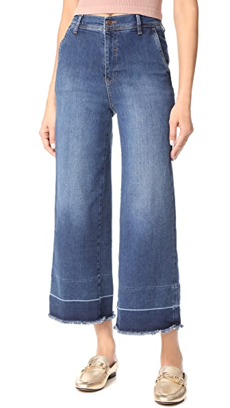 Free People The Vintage A-Line Jeans - Blue