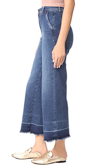 Free People The Vintage A-Line Jeans