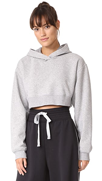Free People Movement Where I m At Hoodie - Light Grey