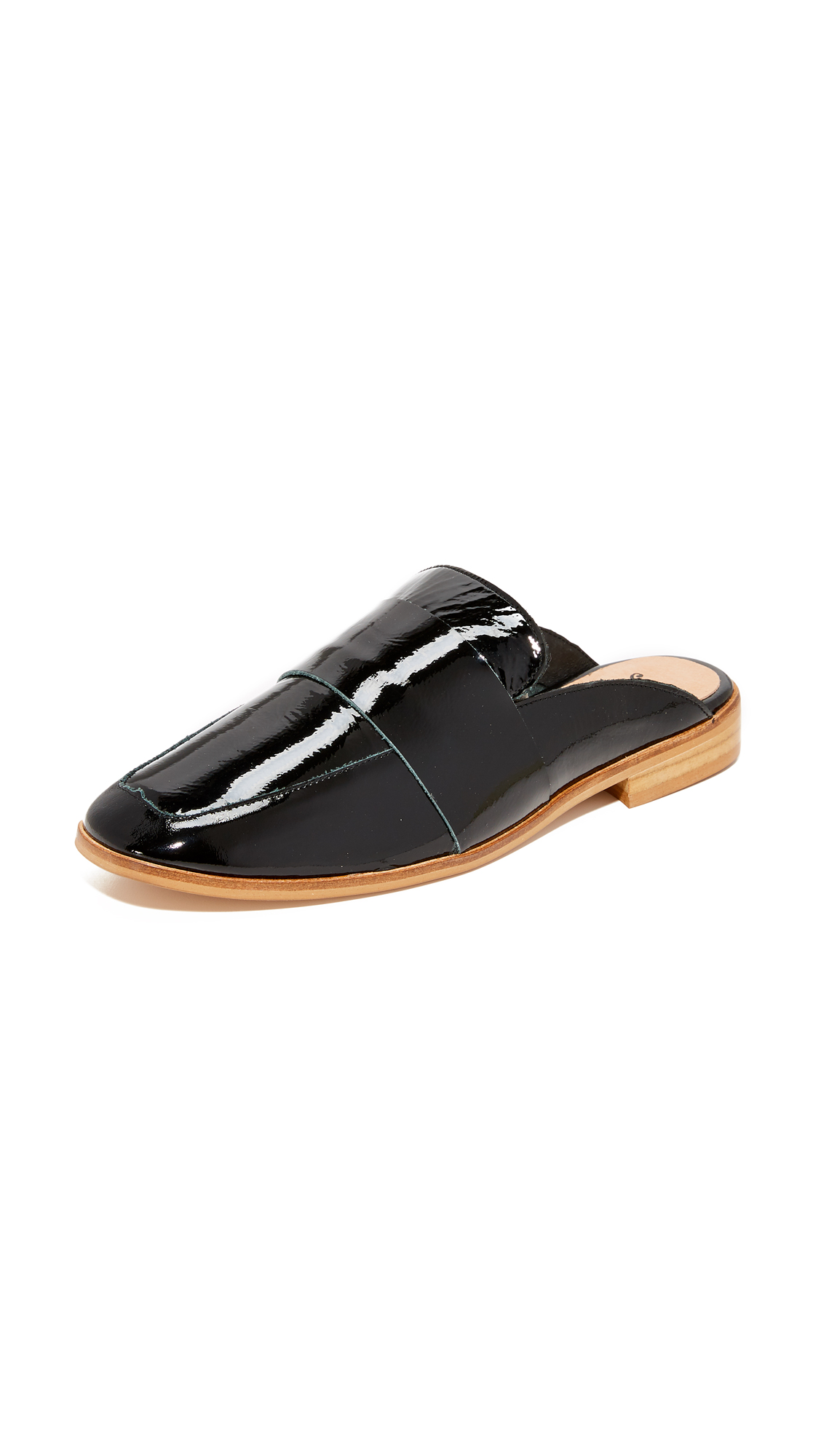 Free People Patent At Ease Loafers - Oxford-Sang