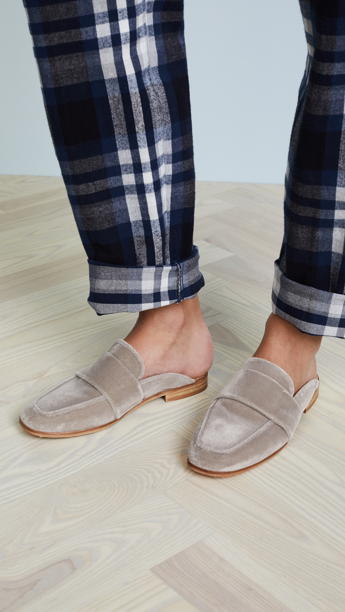 82fea3d36d6 Free People Velvet At Ease Loafers