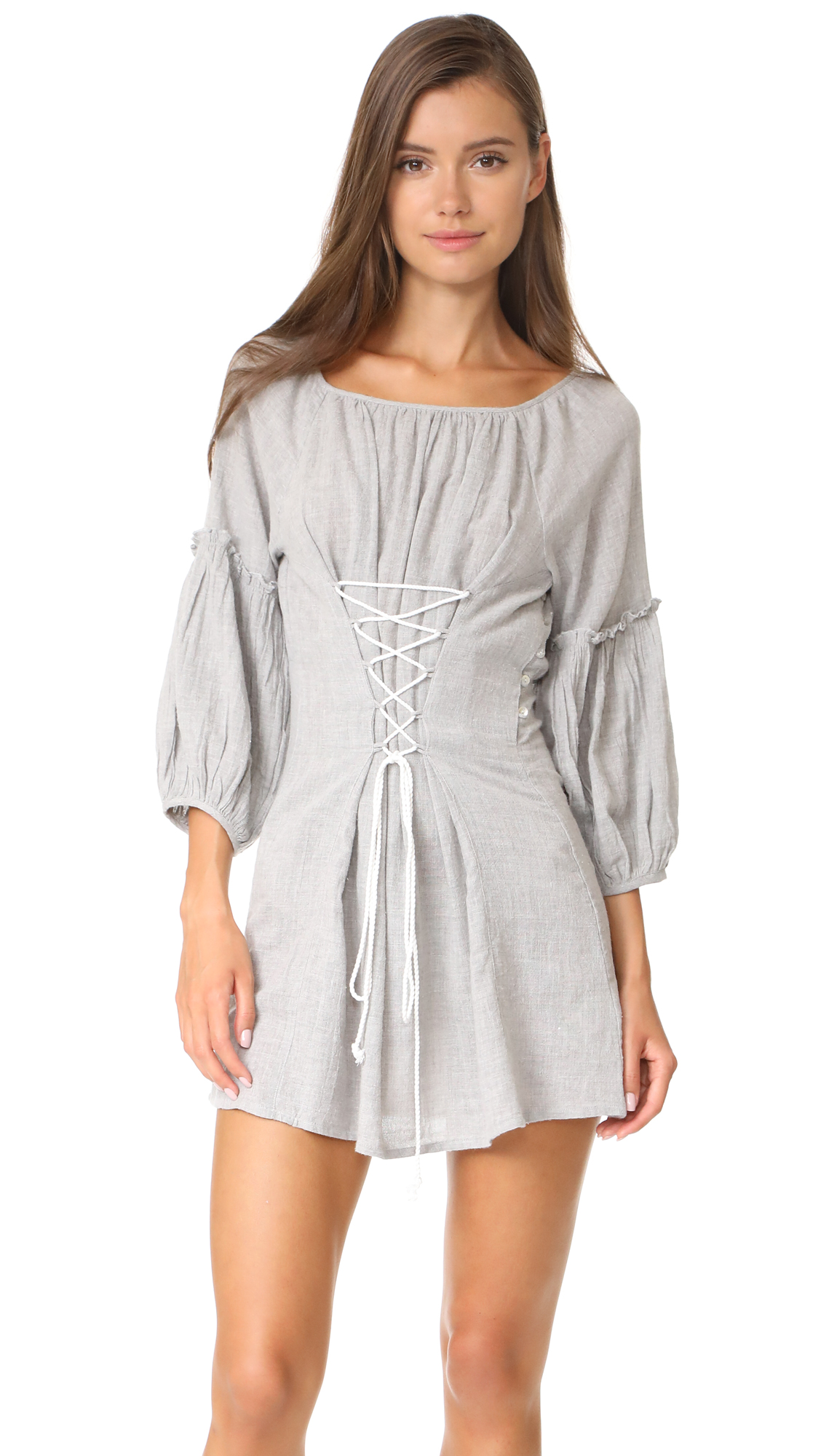 Free People Corsette Mini Dress