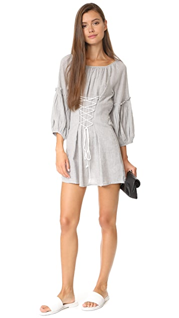 Free People Corsette Mini Dress