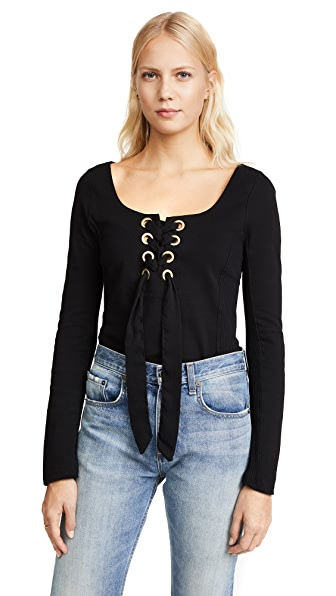 Free People Looking Back Top