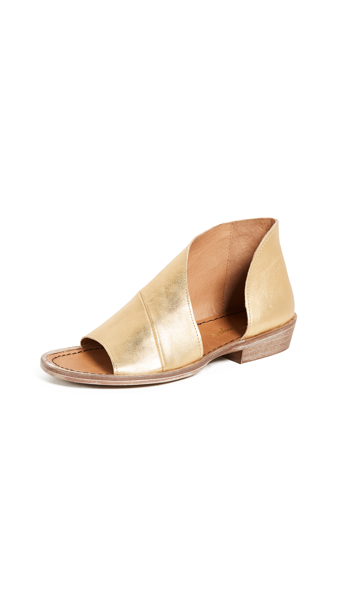 Free People Mont Blanc Sandals - Gold