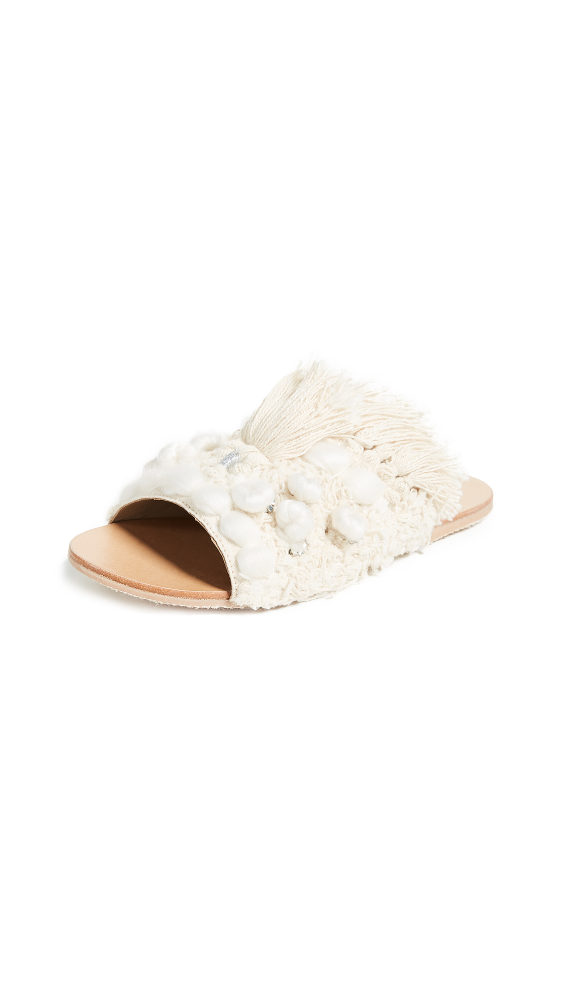 Free People Mars at Night Slides - Cream