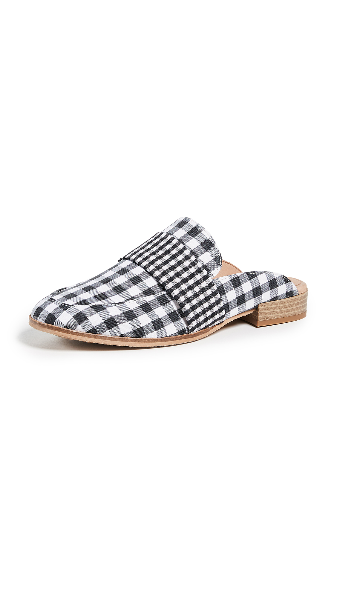 Free People At Ease Loafers - Black/White Combo
