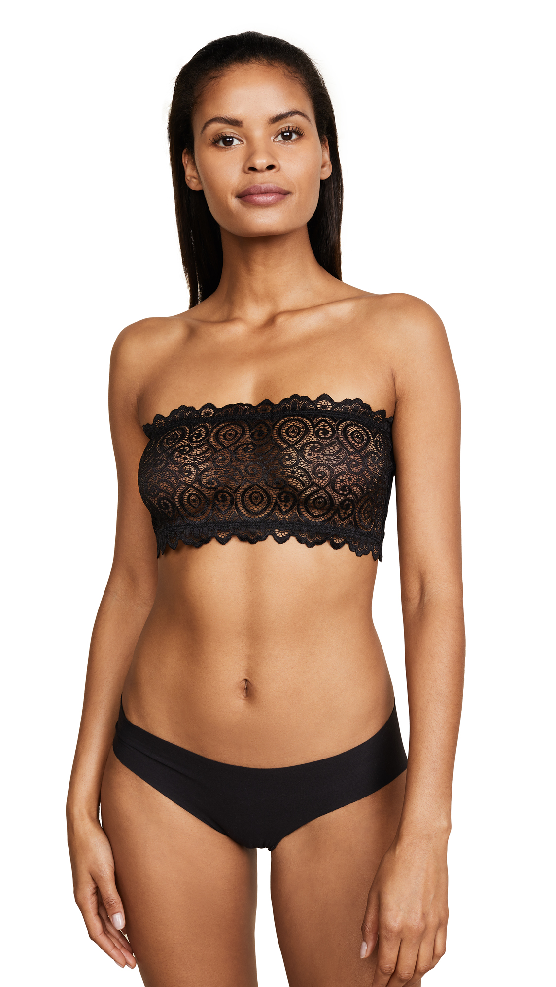Free People Seamless & Lace Bandeau