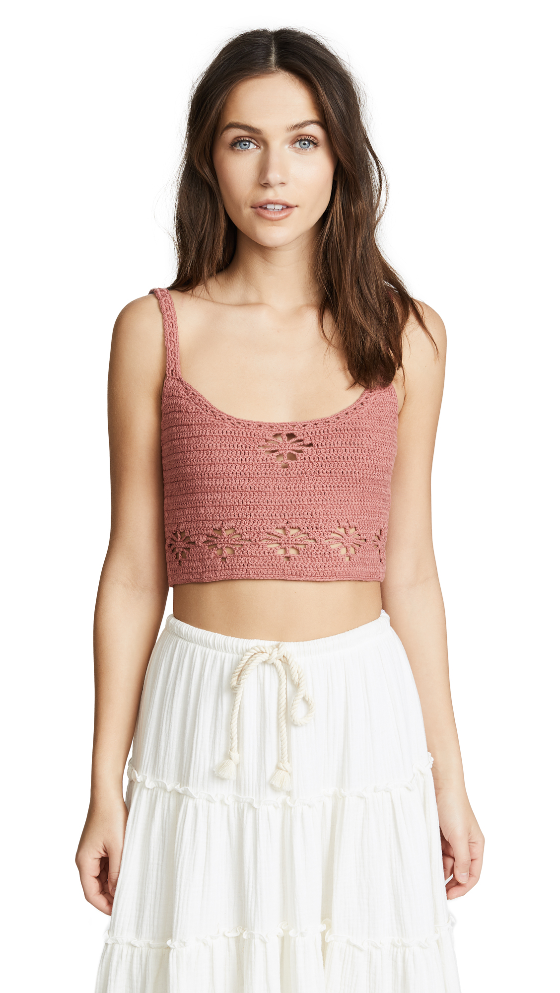 Free People Berkinette Crochet Cami