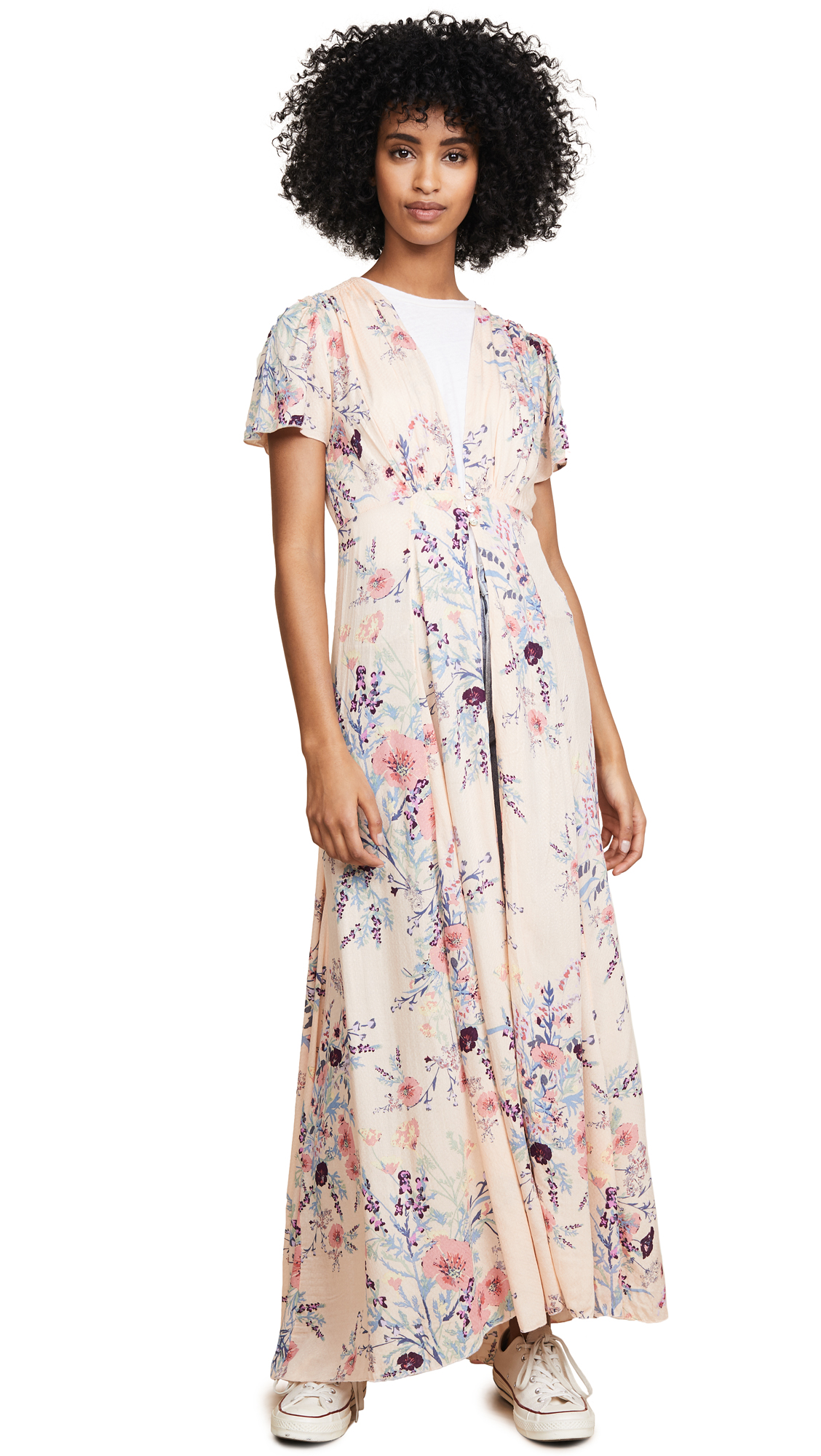 Free People Deevine Duster Robe