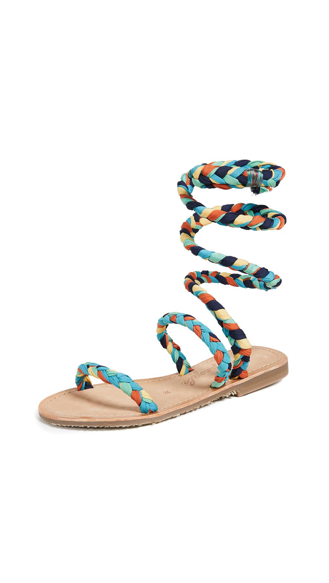 Free People Embellished Havana Gladiator Sandals
