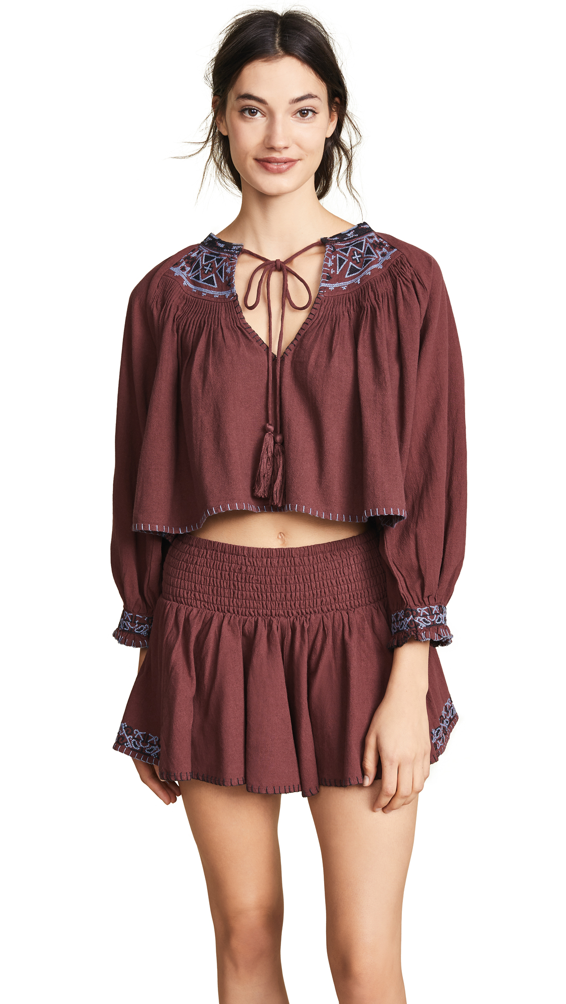 Free People Cherry Bomb Set In Brown
