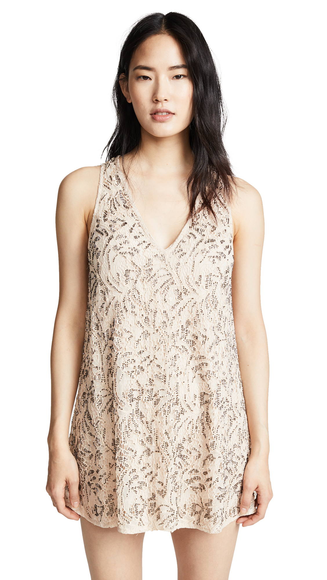 Free People Shine On Mini Dress online dresses sales