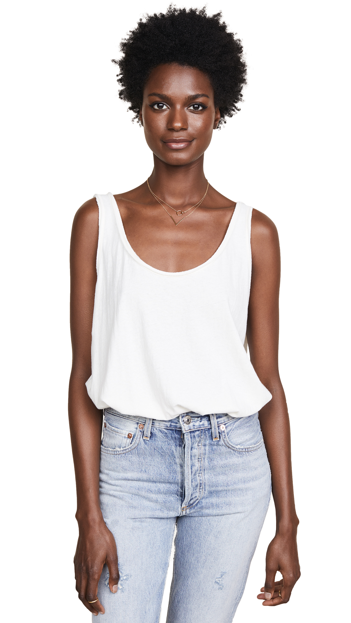 Free People Sydney Bodysuit In White