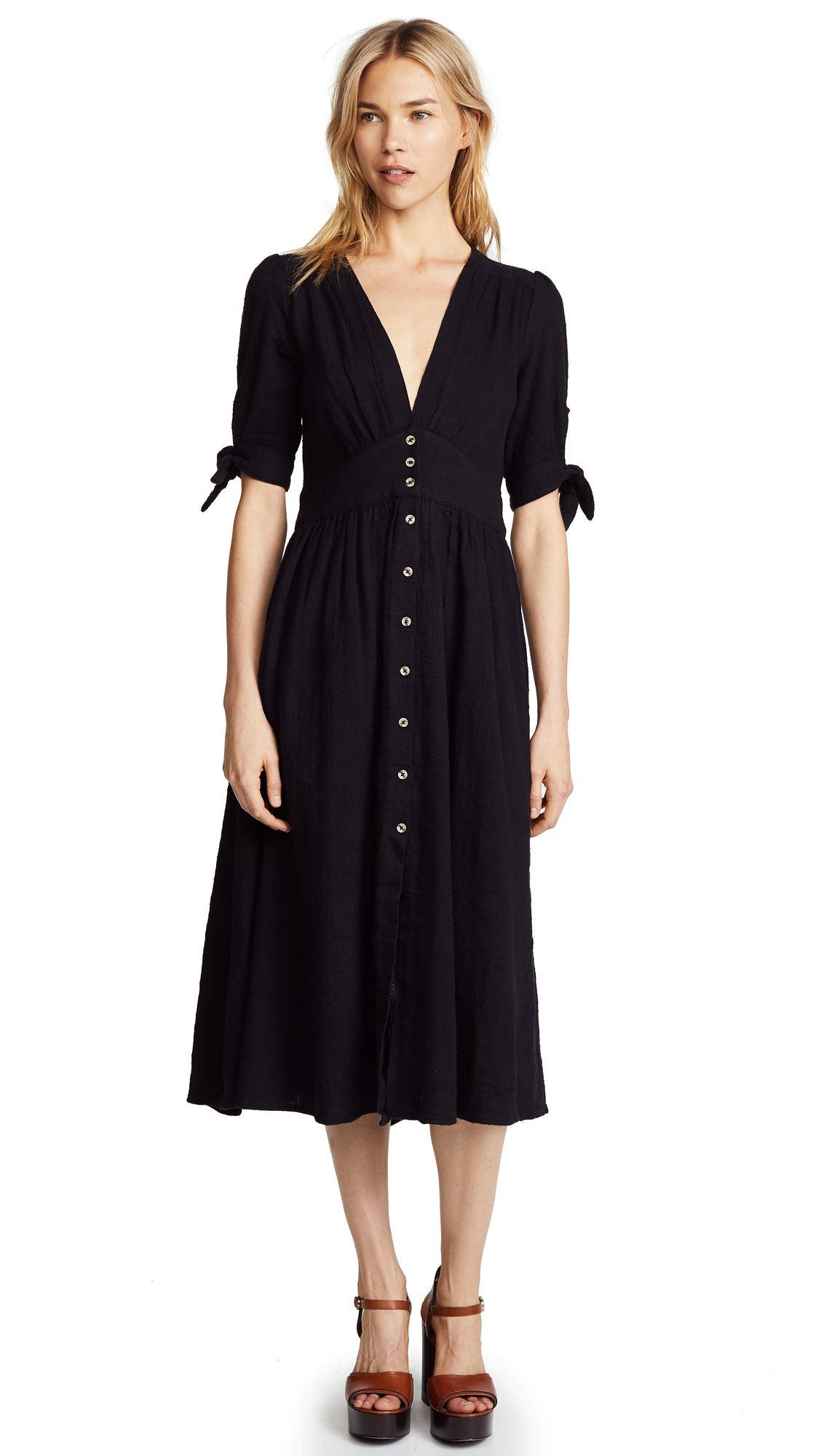 Free People Love Of My Life Dress - Black
