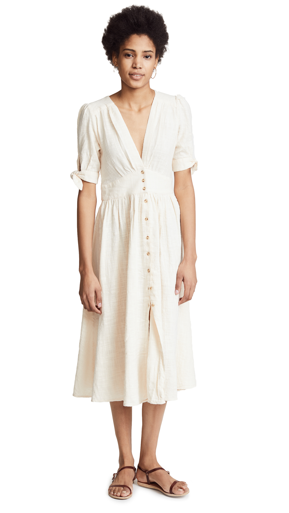 Free People Love Of My Life Dress - Ivory