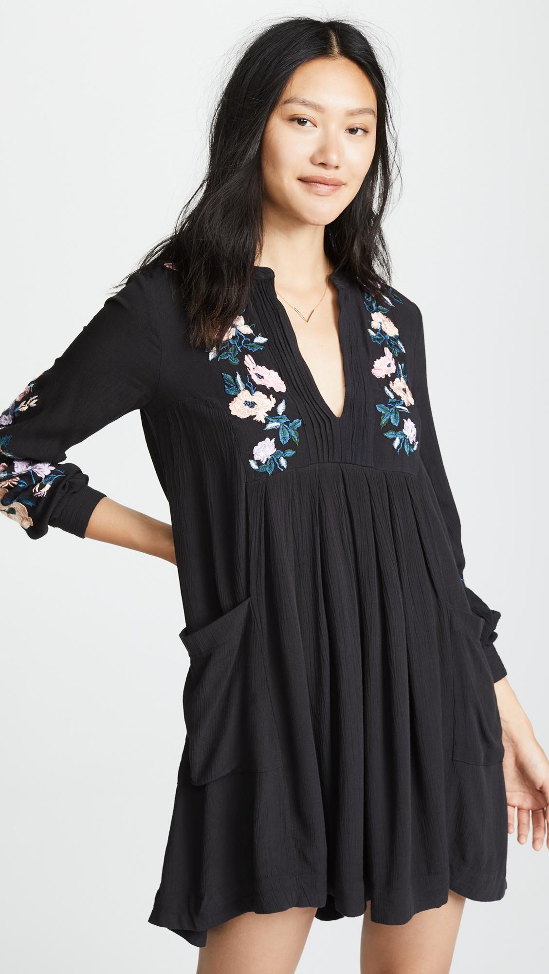 de9dc6338ae Free People Mia Gauze Embroidered Mini Dress | SHOPBOP