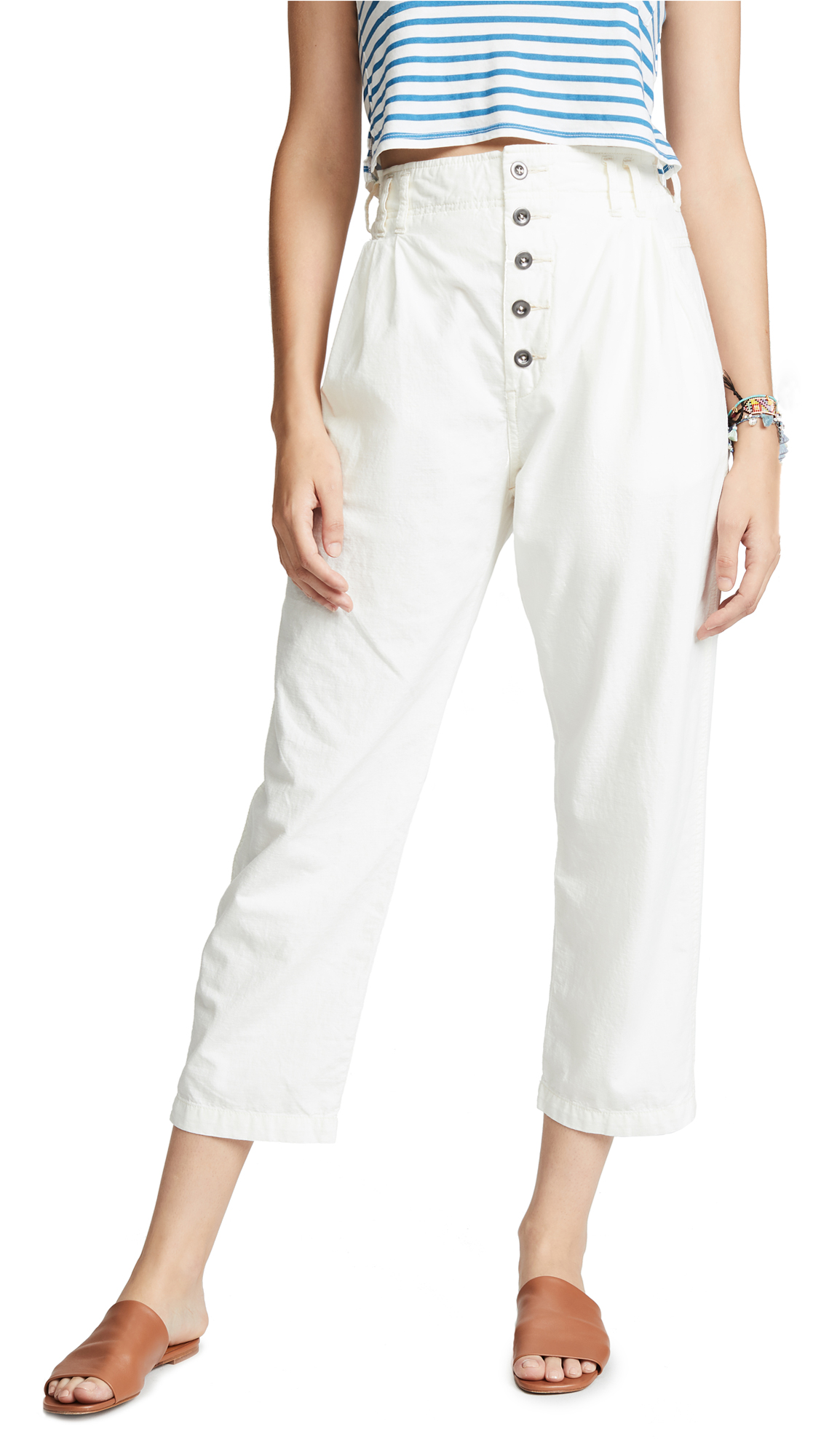 Free People Compass Star Trousers Shopbop D Island Casual Wrinkle Vintage