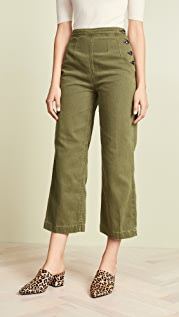 Free People Clean Mod Utility Crop Pants