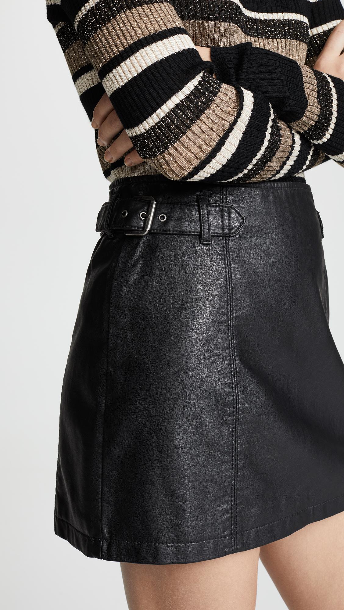 c00167053 Free People Charli A-Line Skirt   SHOPBOP
