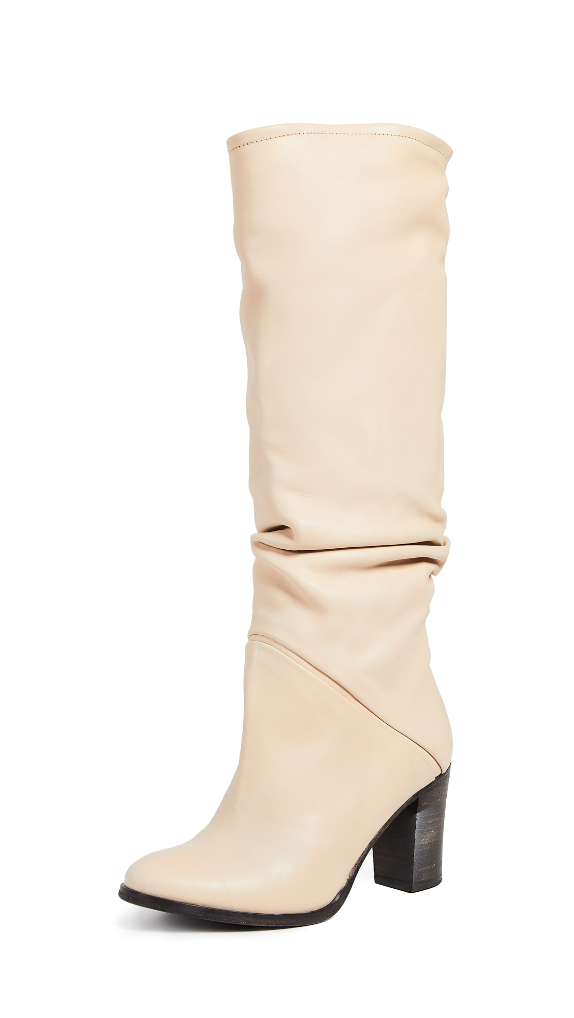 Free People Tennison Tall Boots - Beige