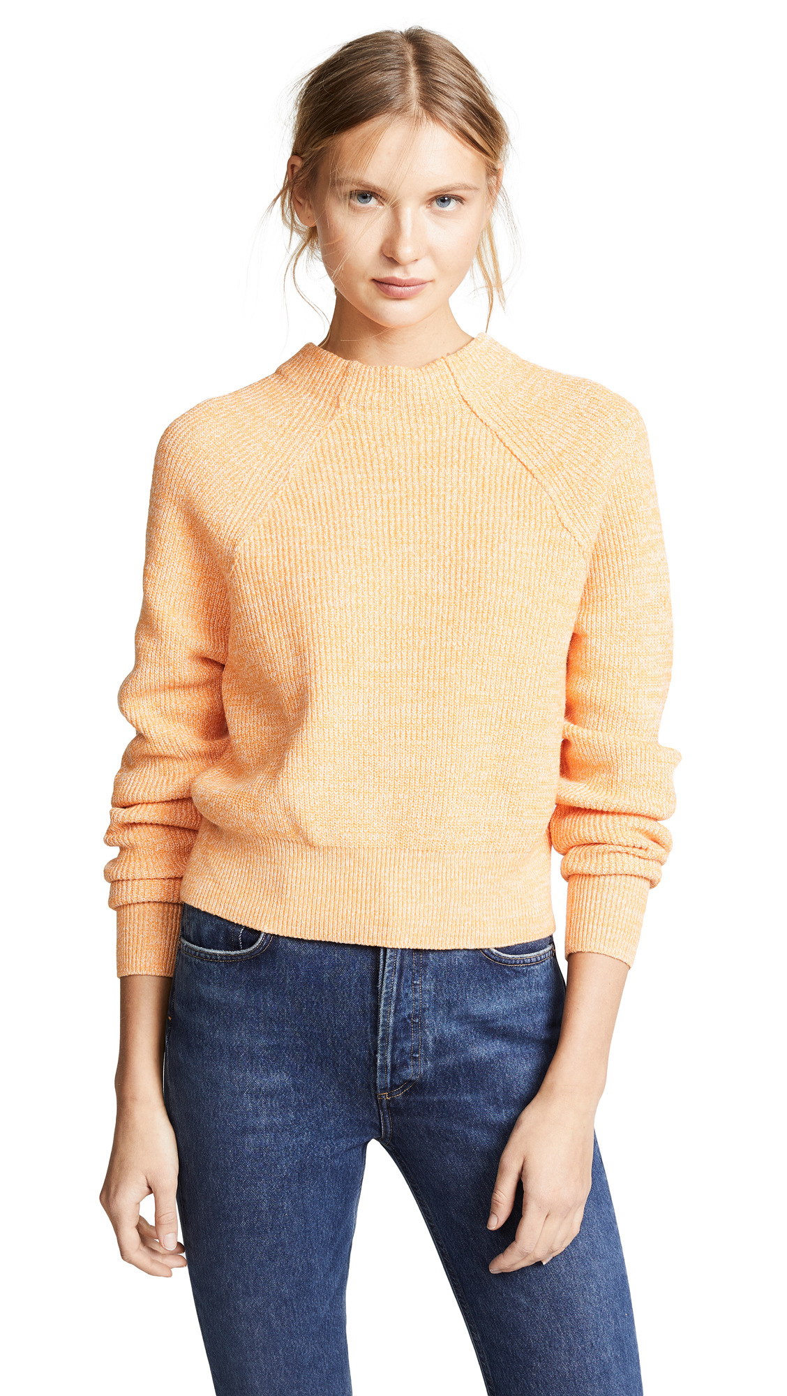 Free People Too Good Pullover - Orange