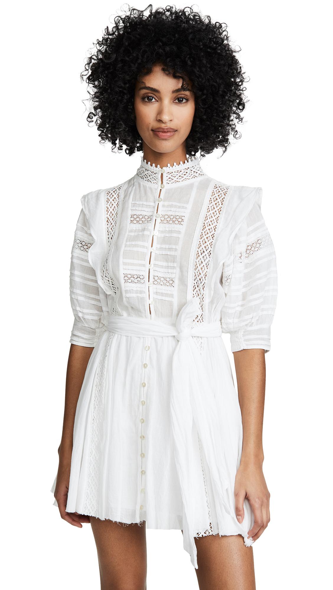 Free People Sydney Mini Dress - Ivory