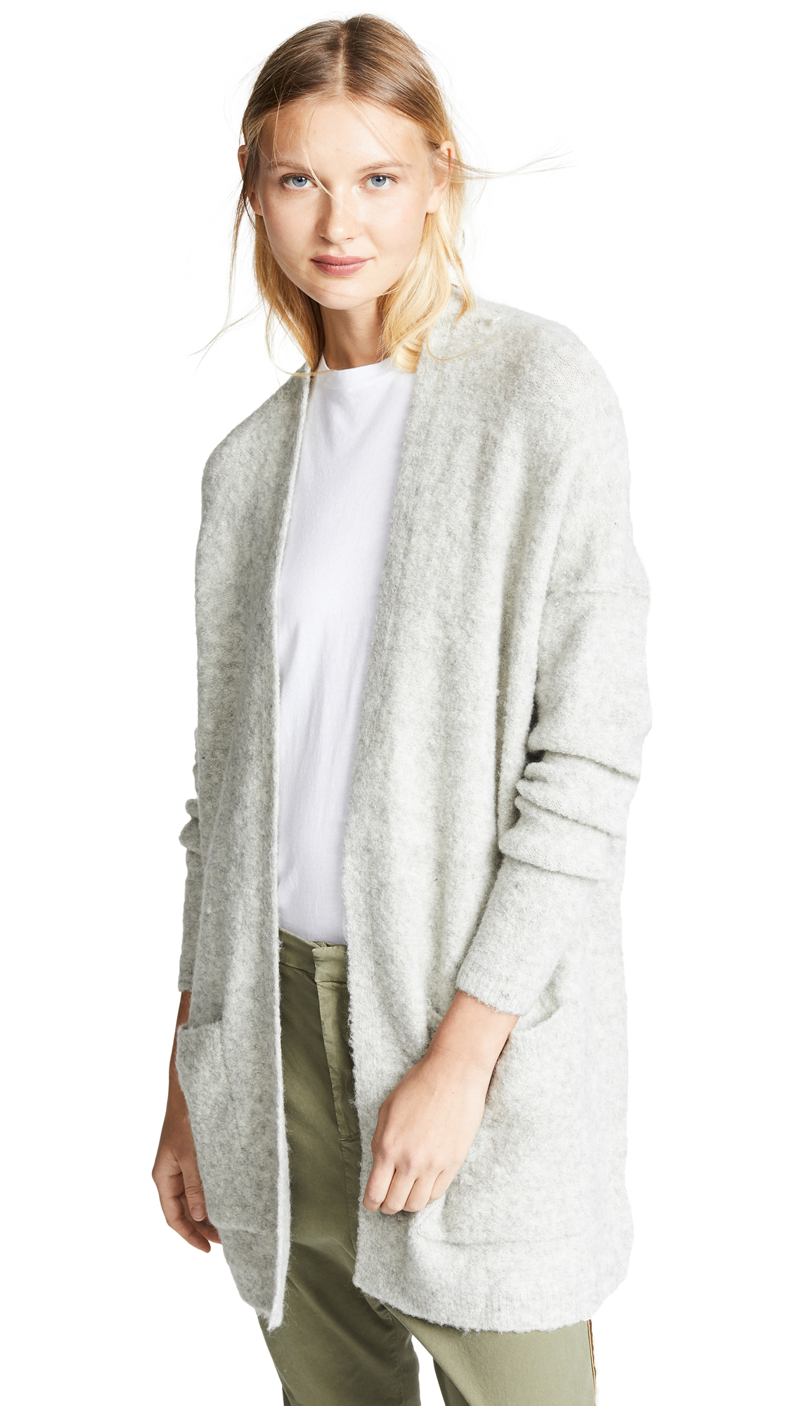 Free People Phantom Cardigan - Grey