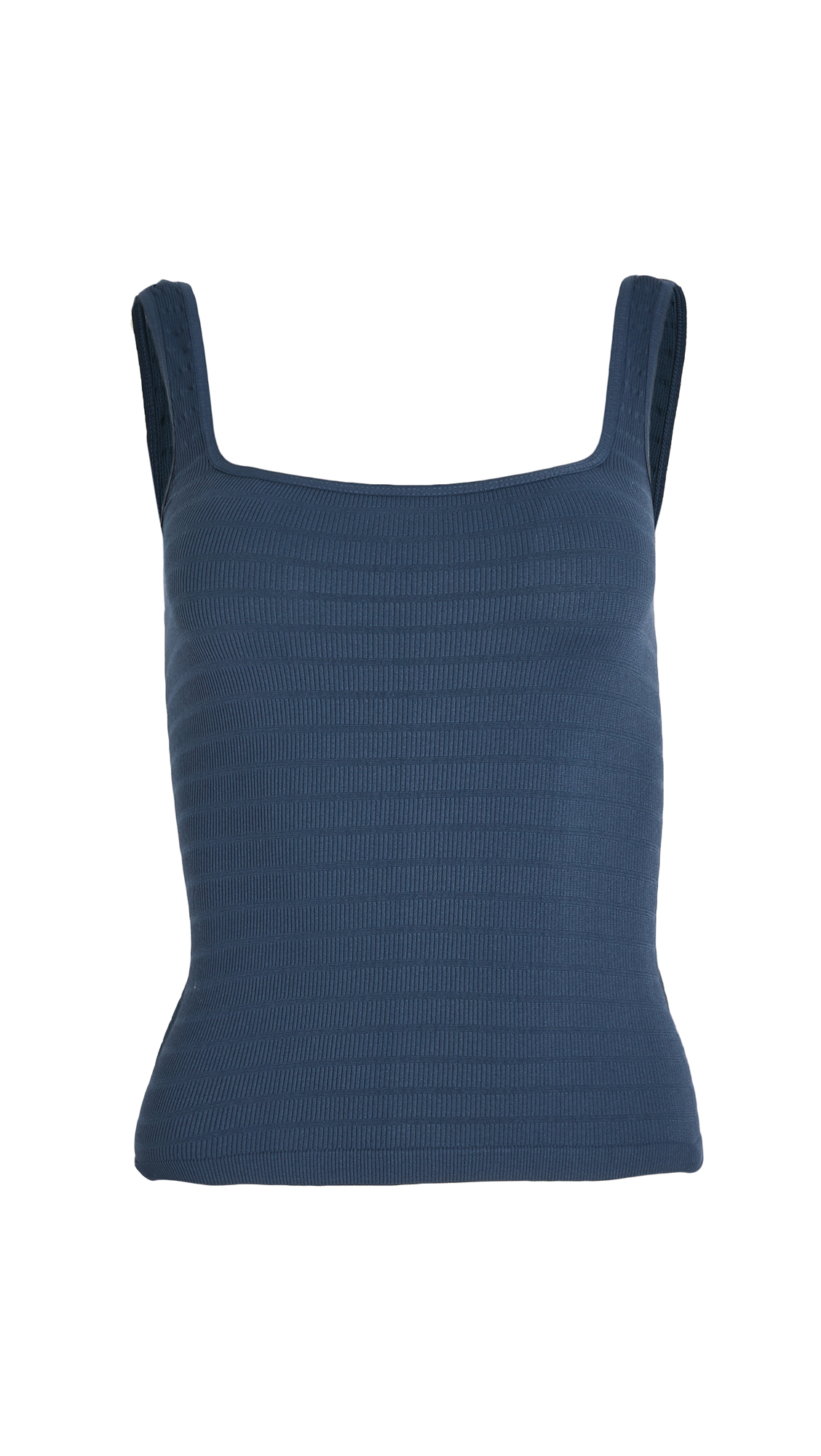 Free People Square One Seamless Cami - Navy
