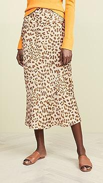 966450c9d20 Free People. Normani Bias Printed Skirt