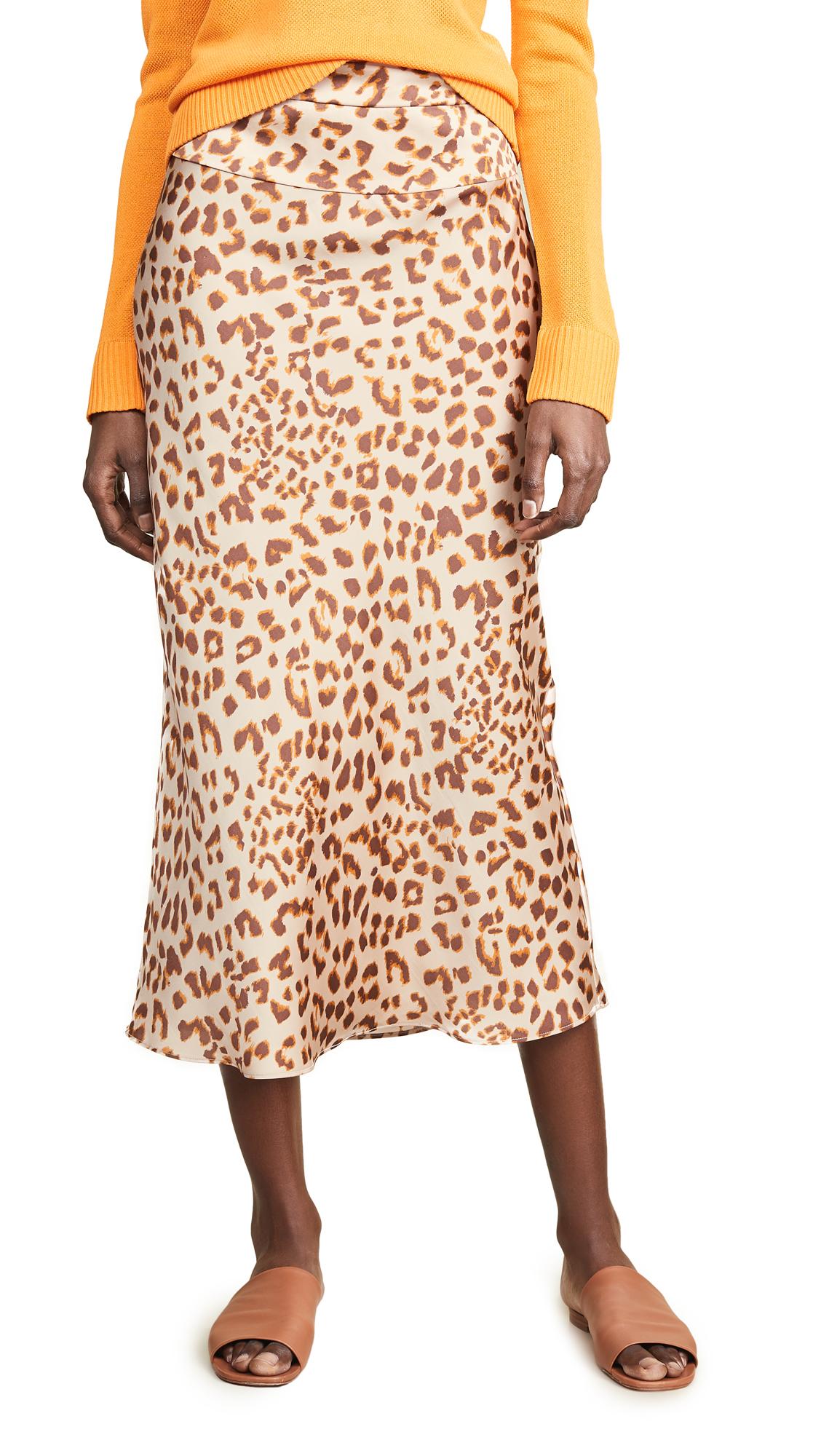 Buy Free People online - photo of Free People Normani Bias Printed Skirt