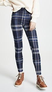 Free People Carnaby Plaid Pants