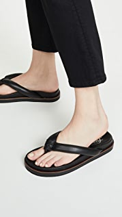 Free People Lena Footbed Flip Flops