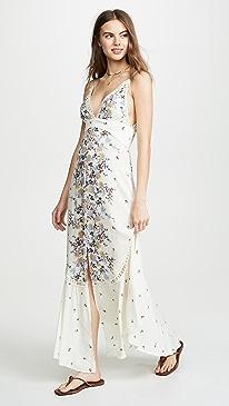 9836a91024 Free People. Paradise Printed Maxi Dress
