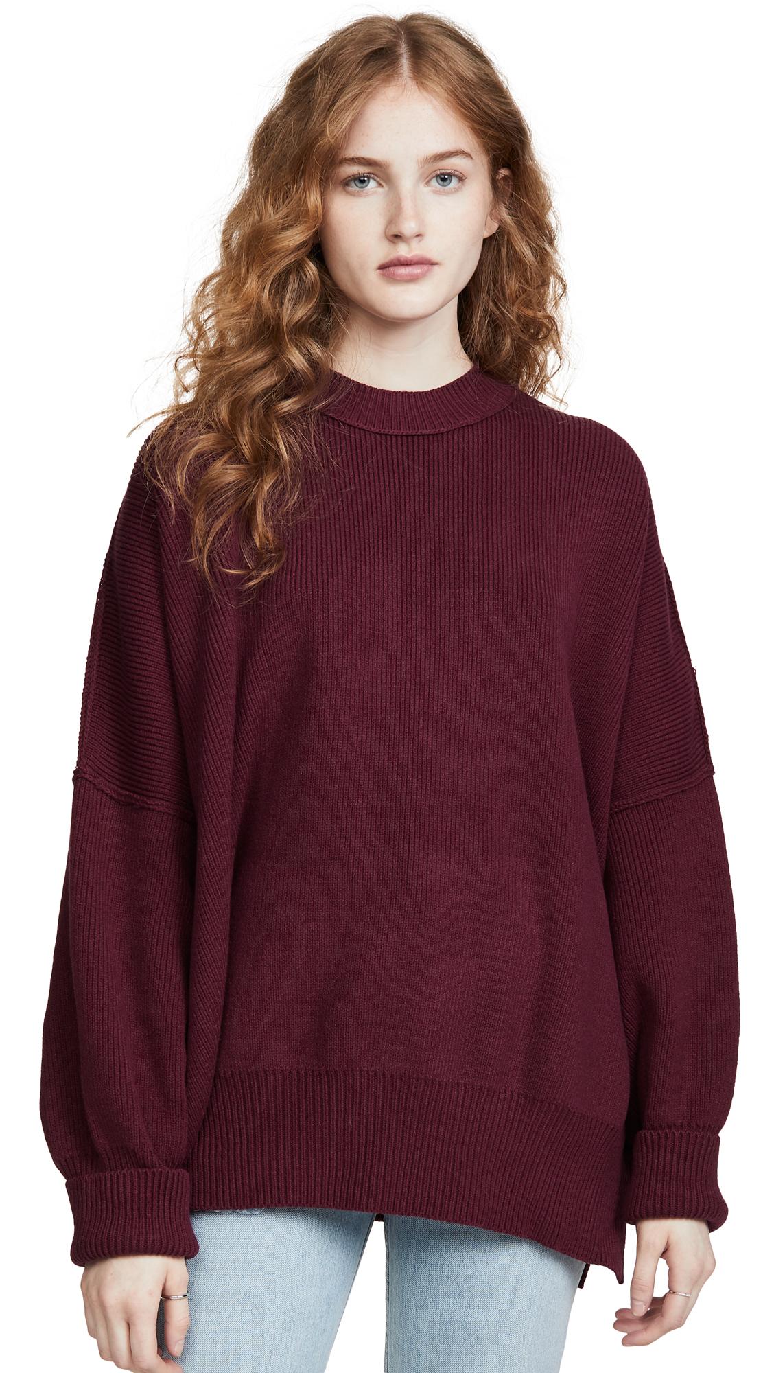 Free People Sweaters EASY STREET TUNIC SWEATER
