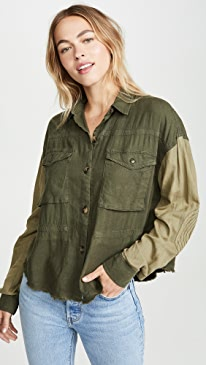 ae8f6ad48aa59 Free People. Day Drifter Button Down