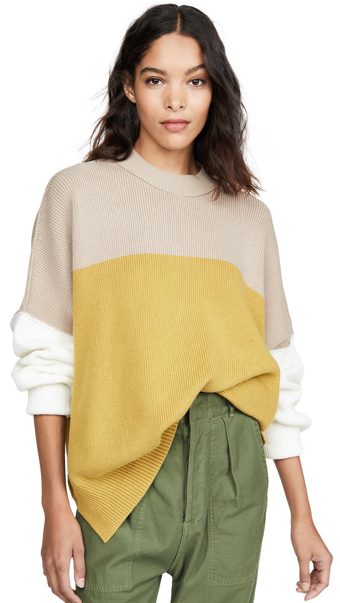 Buy Free People online - photo of Free People Easy Street Colorblock Sweater